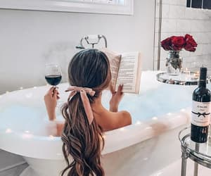 article, bath, and pamper image