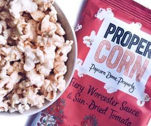 article, popcorn, and foodporn image