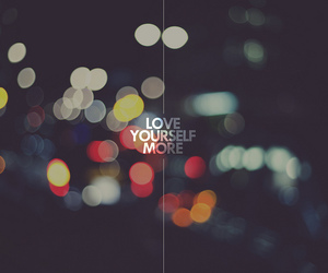 love, more, and yourself image