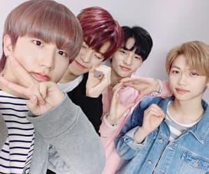 felix, jisung, and hyun jin image