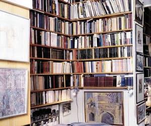 art, bibliophile, and books image