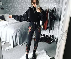 black, style, and clothes image