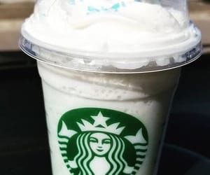 coffee, frappuccino, and starbucks image