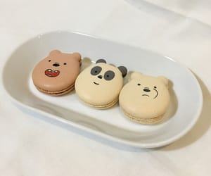 food, aesthetic, and we bare bears image