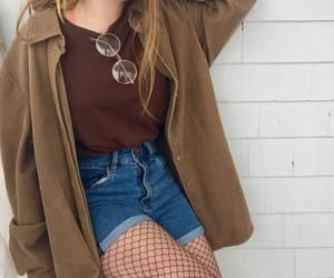 brown, clothes, and grunge image