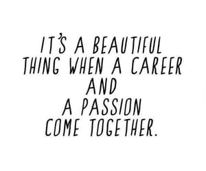 quotes, passion, and career image
