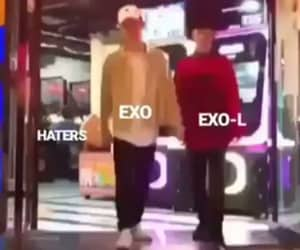 exo, love, and exo we are one image