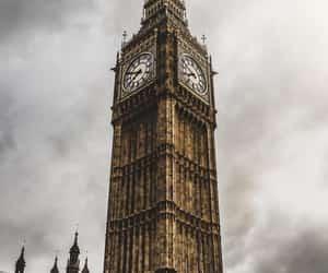 Big Ben, castle, and clock image