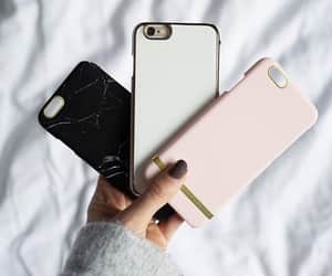 cases, nails, and pink image