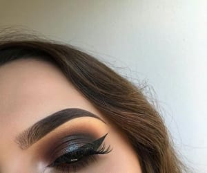 makeup, brands, and eyebrows image