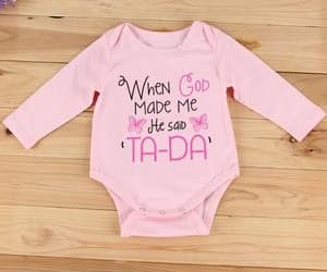 baby clothes, christian baby clothing, and christian clothing image