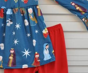 baby clothing, christian baby clothing, and girl's christian clothing image
