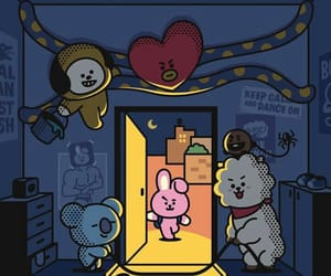 bts, bt21, and cooky image