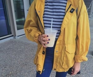 yellow, style, and clothes image