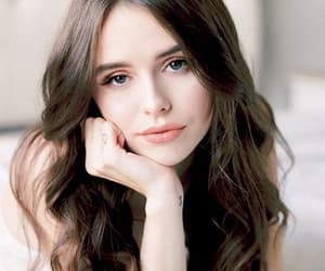 beauty, makeup, and brown hair image