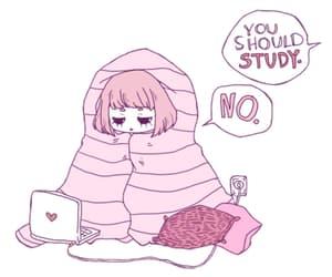 pink, study, and no image