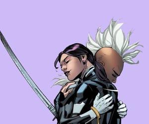 comic, Q, and storm image