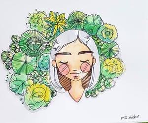 dibujo, ilustracion, and plantas image