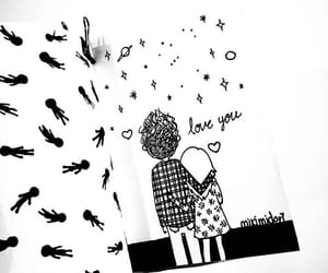 amor, drawing, and love image