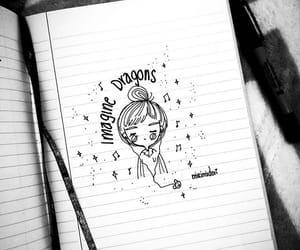 dibujos, imagine, and drawing image
