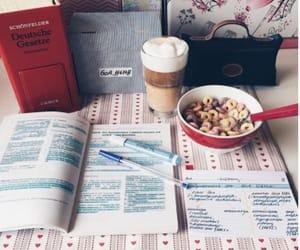 escuela, metas, and desayuno image