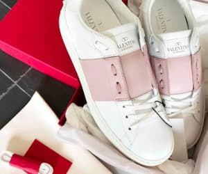 cool, pink, and sneakers image