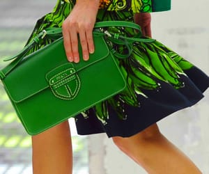 fashion, green, and model image