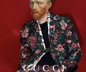 van gogh, gucci, and art image