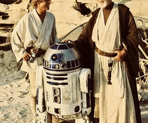 luke skywalker, star wars, and r2d2 image