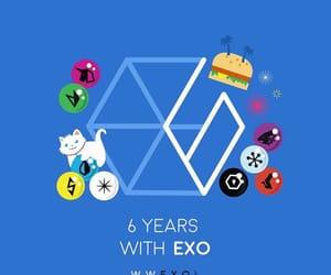 aniversario, exo, and kpop image