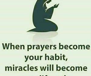 allah, faith, and Habit image