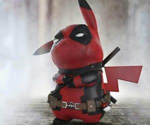 deadpool, pikachu, and pokemon image