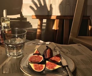 fruit, photo, and sunset image