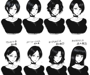 64 Images About Anime Hairstyles And Refrences On We Heart It See