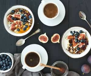 blueberries, breakfast, and diet image