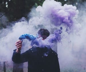 smoke, aesthetic, and boy image