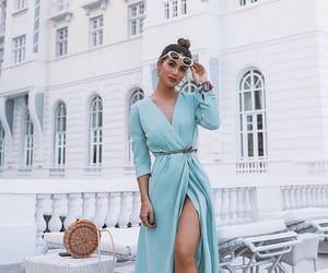 dress, fashion, and paris image