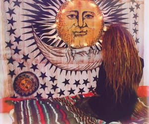 hippie, sun, and tumblr image