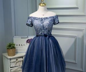 beautiful dress, cocktail dress, and lace image