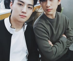 got7, jinyoung, and jaebum image
