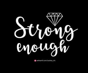 day, diamond, and enough image