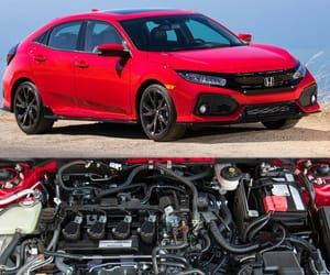 honda civic, hatchback, and family hatches image