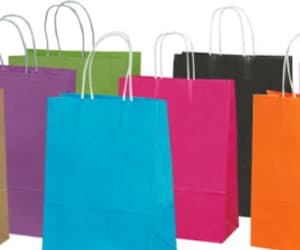 paper bags, plastic bags, and carry bags image