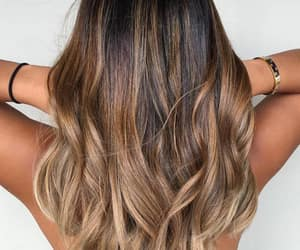 hairstyle and balayage image