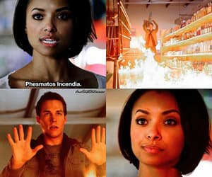 witch, the vampire diaries, and bonnie benett image