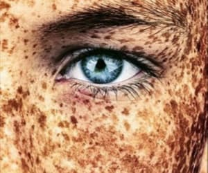 eye, blauw, and eyes image