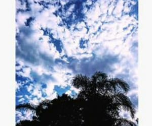 sky, blue, and love image