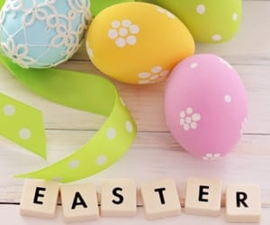 easter, cute, and easter eggs image