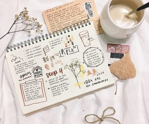 coffee, aesthetic, and journal image
