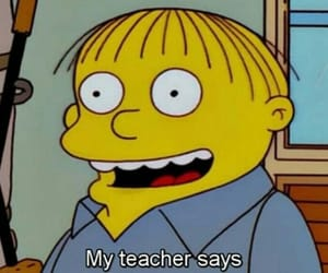 funny, school, and simpsons image